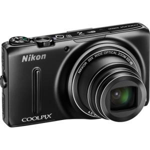 COOLPIX S9500 Digital Camera (Black)