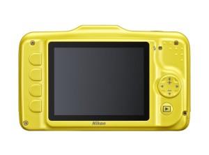 Nikon Coolpix S31 Camera (Back)